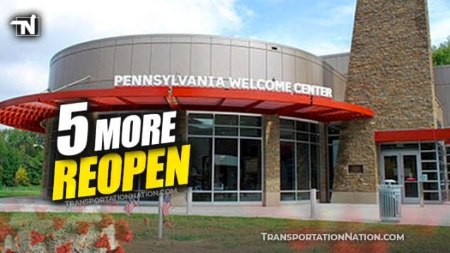 PA Rest Areas Reopen 5 more – COVID19