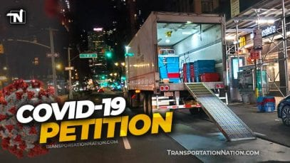covid19 petition – truckers safety