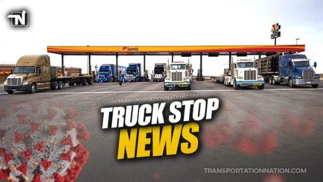 truck stop news covid19