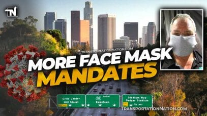 Face Mask Mandate around Los Angeles