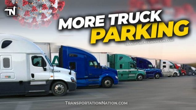 More Truck Parking COVID19
