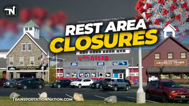 NH Rest Area Closures