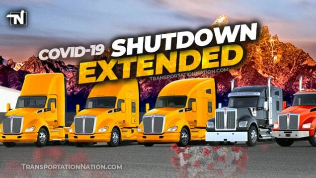 Paccar Shuts Down Covid19 – EXTENDED