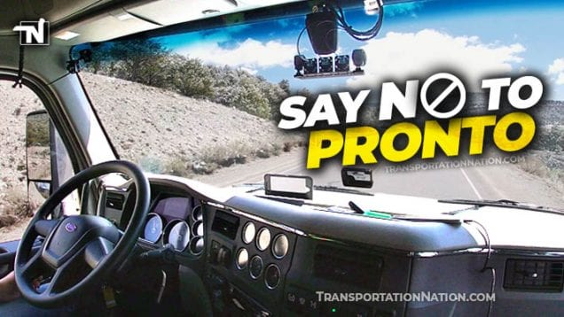 say no to pronto
