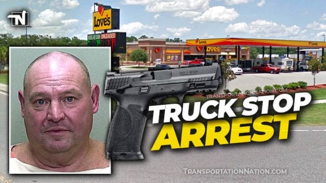 Truck Stop Arrest – Lawson – Loves